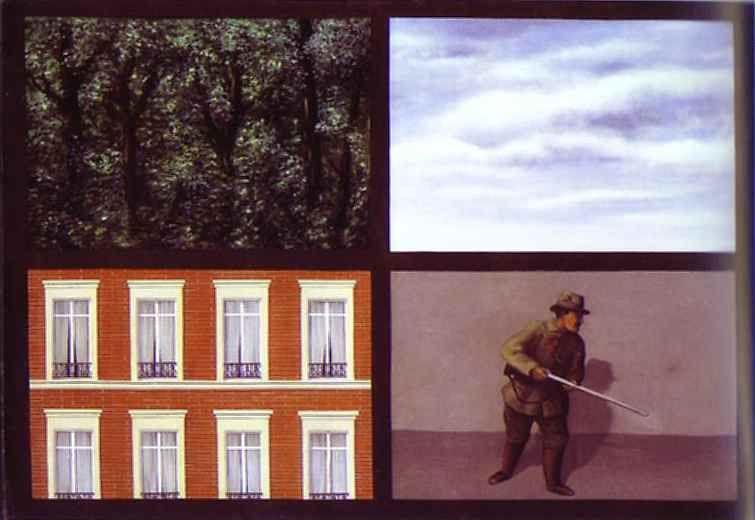 René Magritte. Obsession (French: L'Idée fixe).