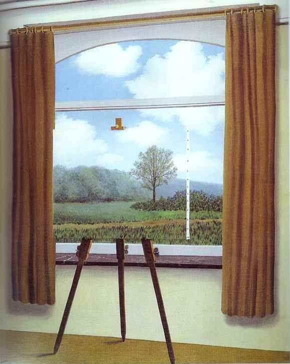René Magritte. The Human Condition (French: La Condition humaine).