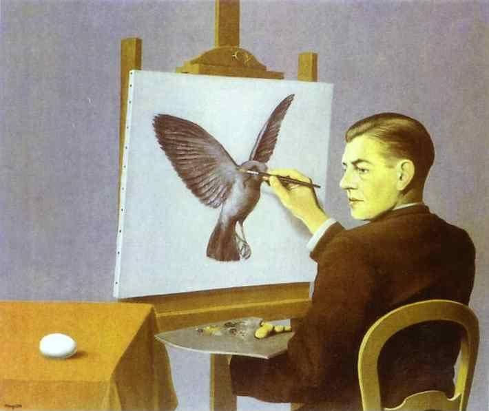 René Magritte. Perspicacity.