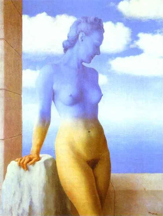 René Magritte. Black Magic.