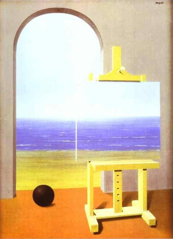 René Magritte. The Human Condition.