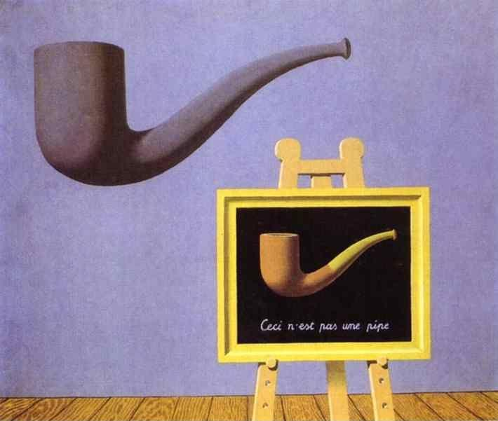 René Magritte. The Two Mysteries.