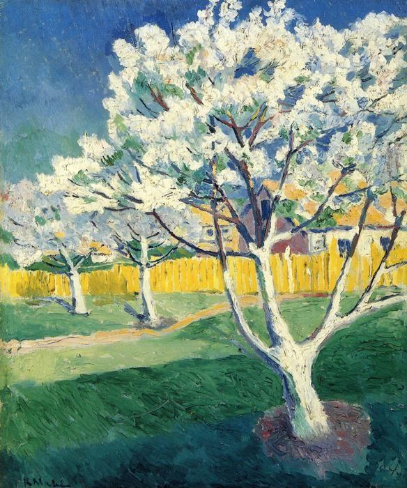 Kazimir Malevich. Apple Tree in Blossom.