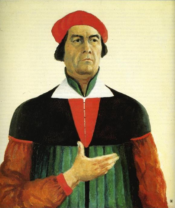 Kazimir Malevich. Self-Portrait.
