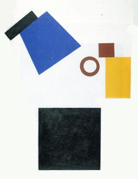 Kazimir Malevich. Suprematism. Two-Dimensional  Self-Portrait.