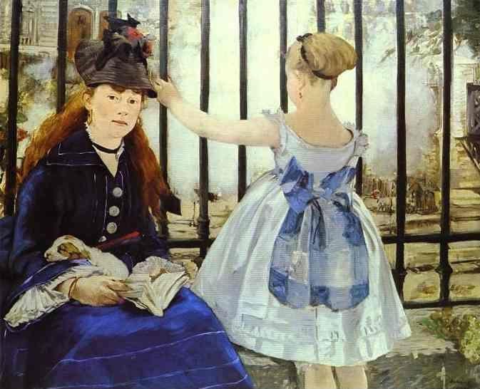Edouard Manet. The Railway.