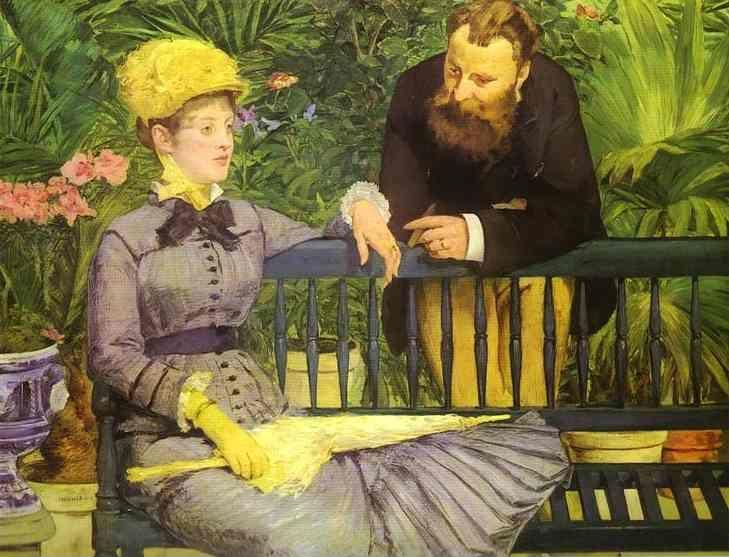 Edouard Manet. The Conservatory.