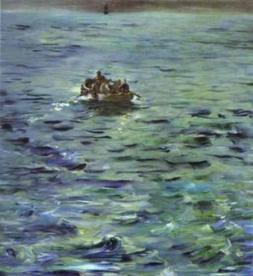 Edouard Manet. The Escape of Rochefort.