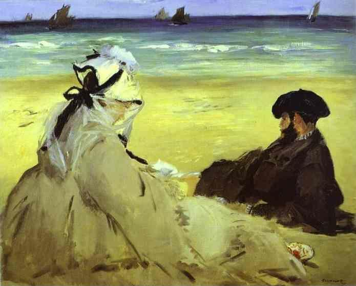 Edouard Manet. At the Beach.