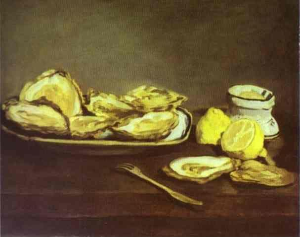 Edouard Manet. Oysters.