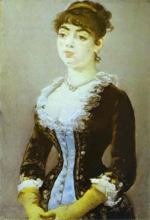 Edouard Manet. Madame Michel-Levy.