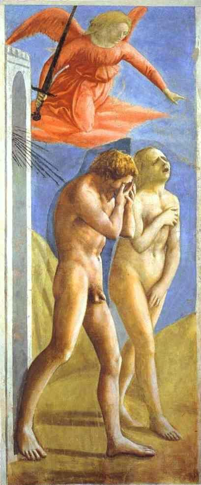 Masaccio. The Expulsion from Paradise.
