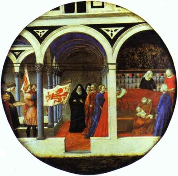 Masaccio. Birth Salver.