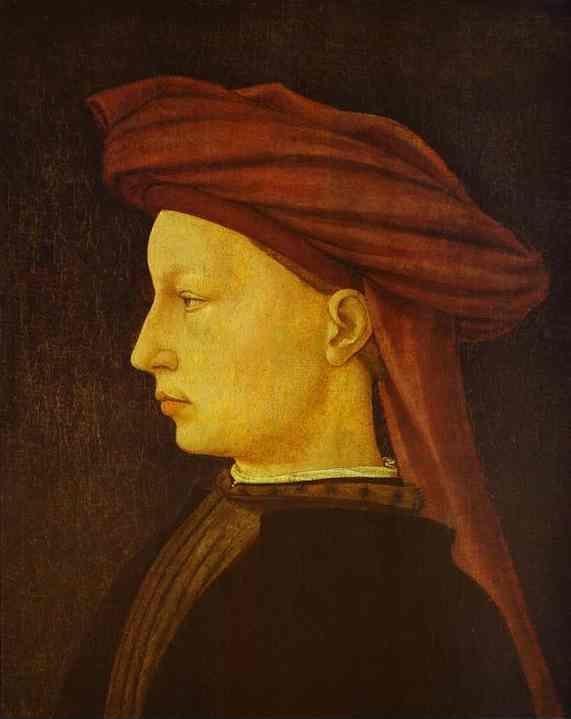Masaccio. Portrait of a Young Man.
