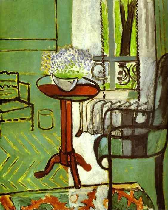 Henri Matisse. The Window (Interior with Forget-Me-Nots).