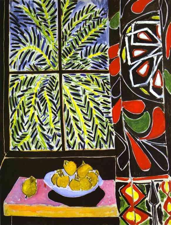 Henri Matisse. The Egyptian Curtain.