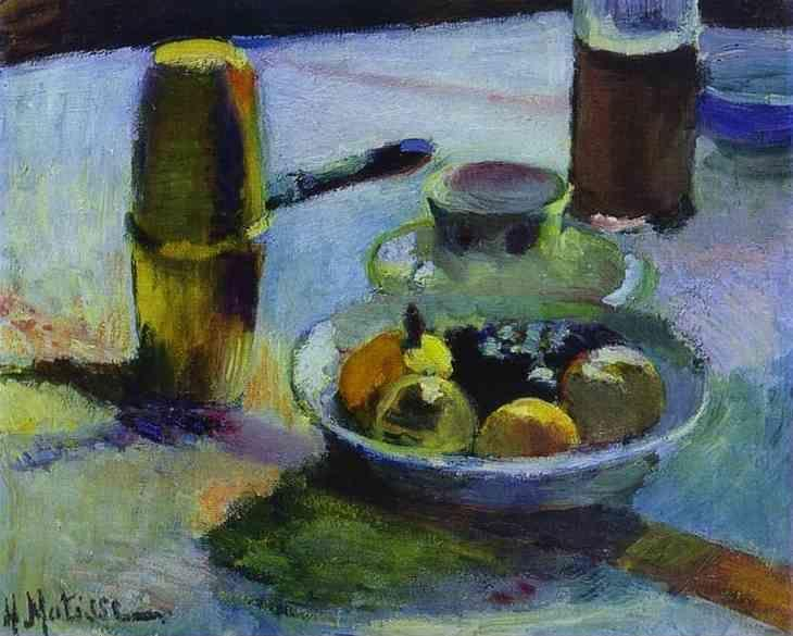 Henri Matisse. Fruit and Coffee-Pot.
