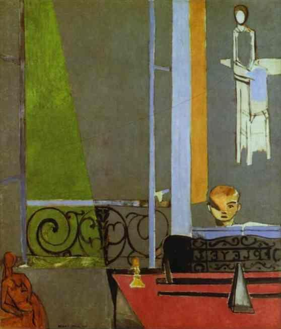 Henri Matisse. The Piano Lesson.