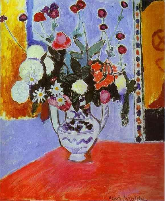 Henri Matisse. Bouquet (Vase with Two Handles).