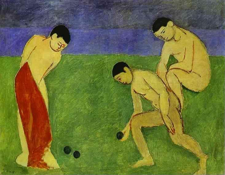 Henri Matisse. A Game of Bowls.