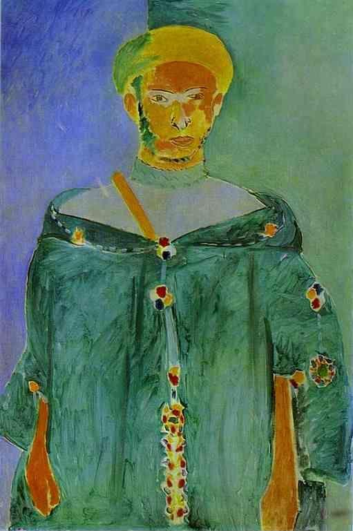 Henri Matisse The Moroccan In Green