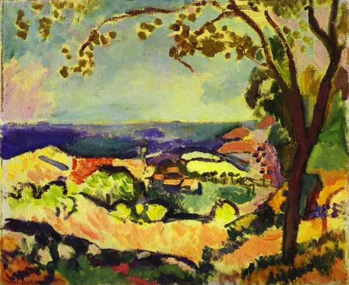 Henri Matisse. Sea at Collioure.