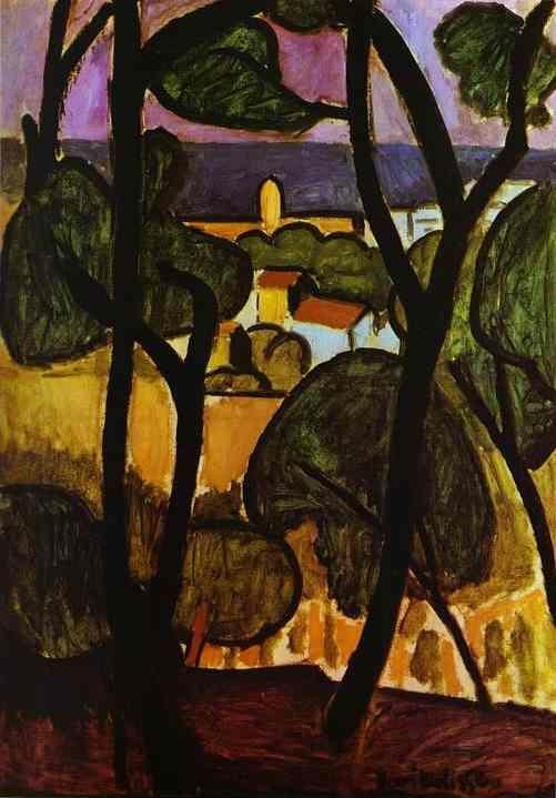 Henri Matisse. View of Collioure.