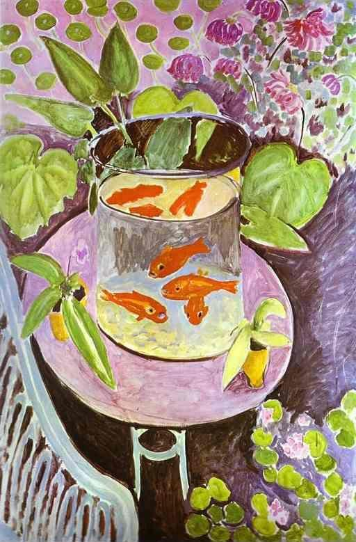 Henri Matisse. Red Fish.