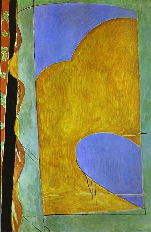 Henri Matisse. Yellow Curtain.
