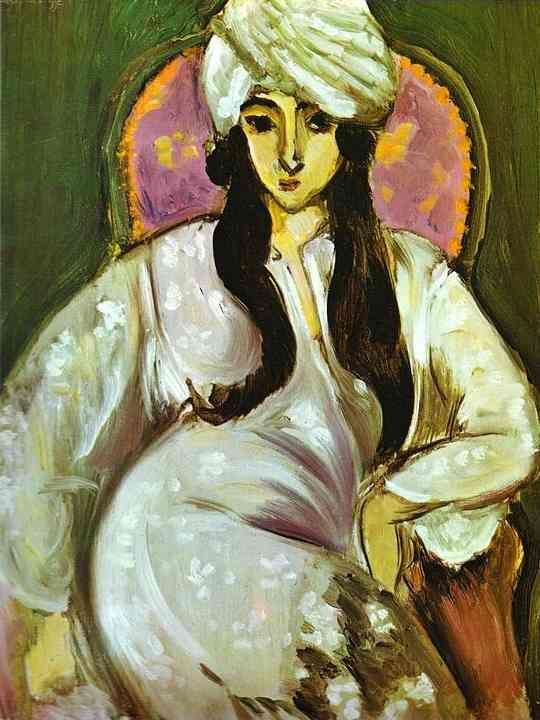 Henri Matisse. Laurette in a White Turban.