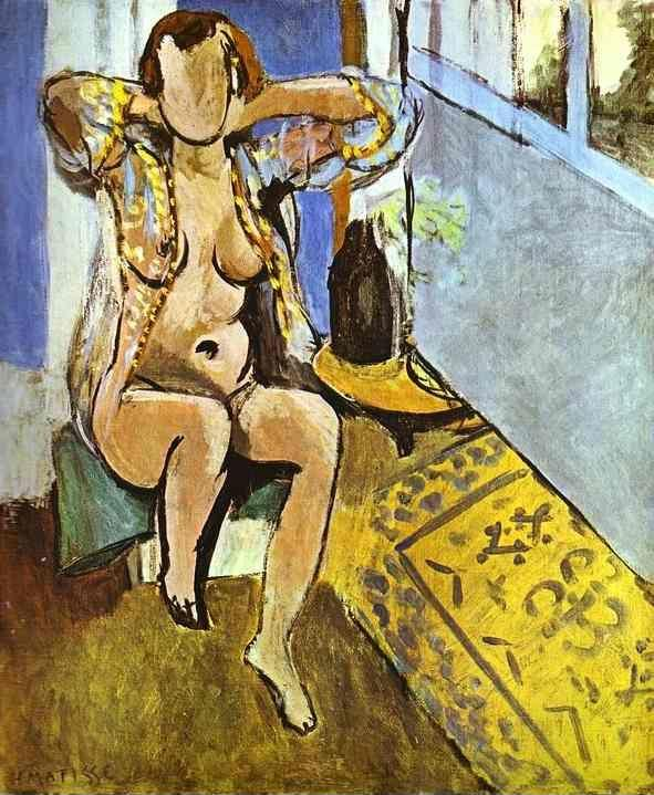 Henri Matisse. Nude, Spanish Carpet.