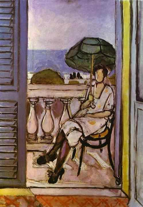 Henri Matisse. Woman with Umbrella.