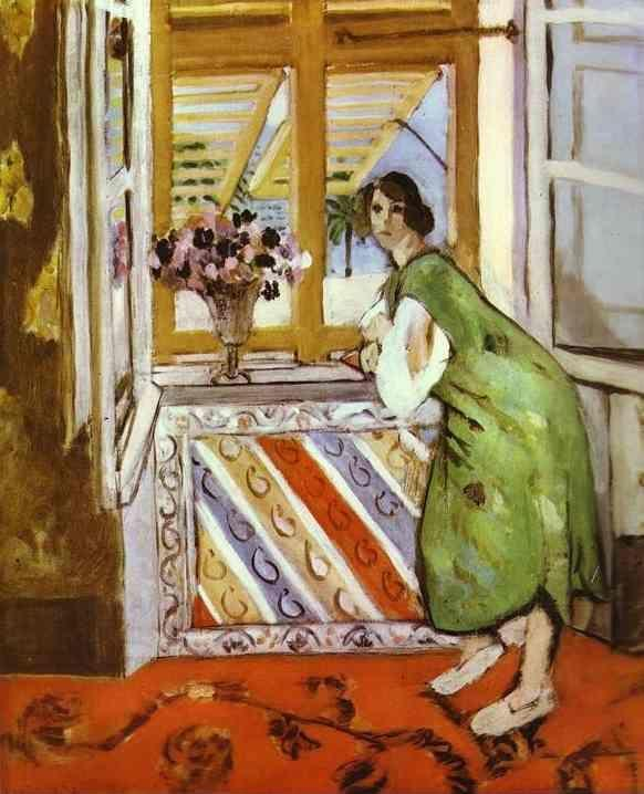 Henri Matisse. Young Girl in a Green Dress.