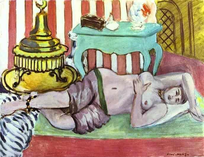 Henri Matisse. Odalisque with Green Scarf.