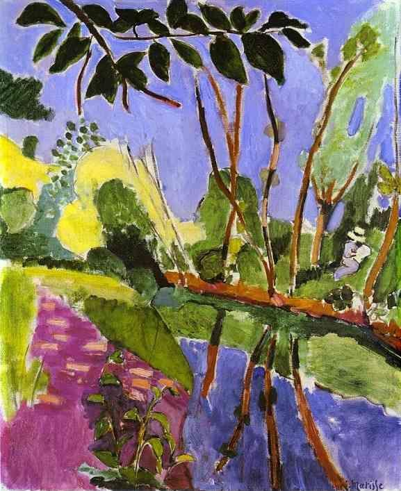 Henri Matisse. The Bank.
