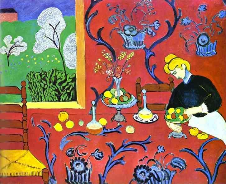 Henri Matisse. Harmony in Red.