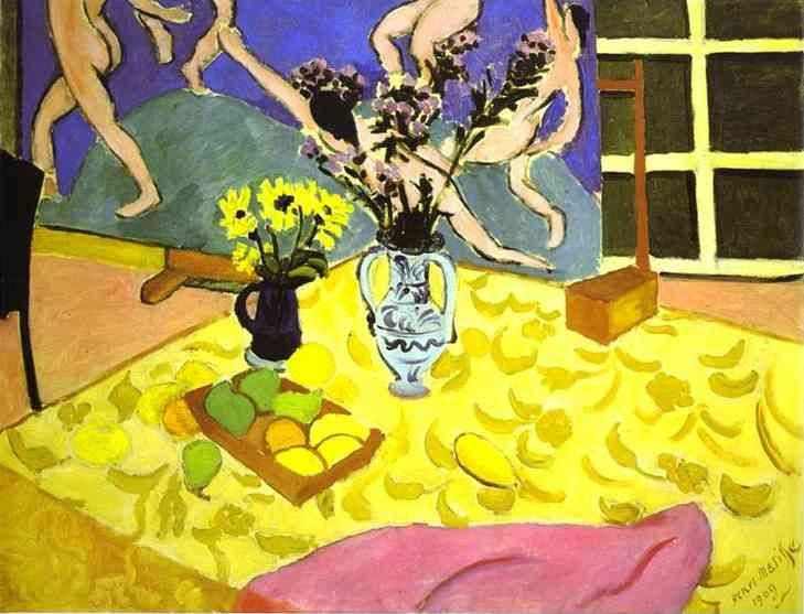 Henri Matisse. Still Life with 'La Danse'.