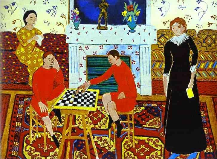Henri Matisse. The Painter's Family.