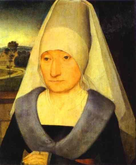 Hans Memling. Portrait of an Old Woman.