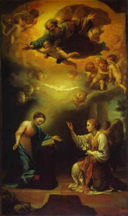 Famous Paintings Of The Annunciation