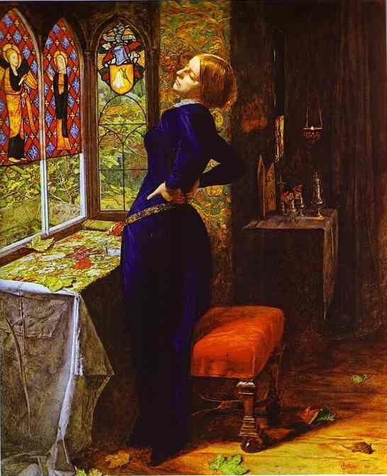 Sir John Everett Millais. Mariana.