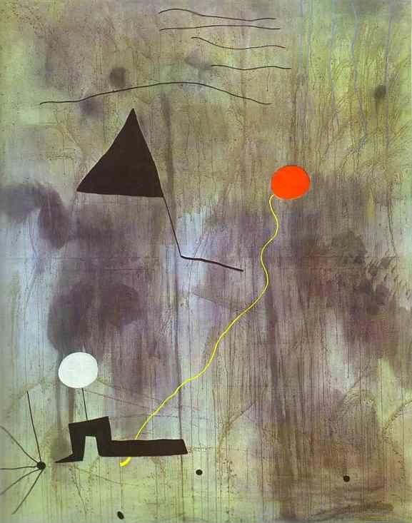 Joan Miró. The Birth of the World.