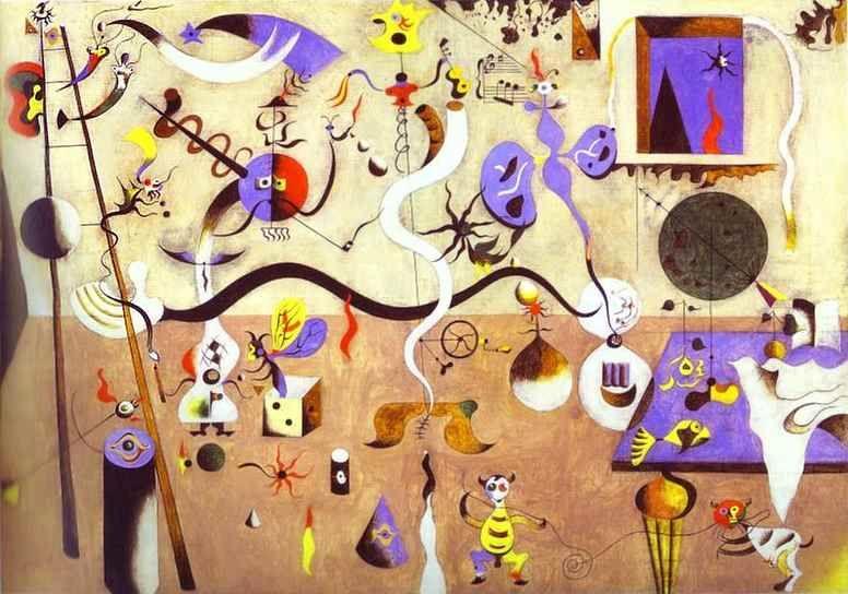 Joan Miró. Harlequin's Carnival.