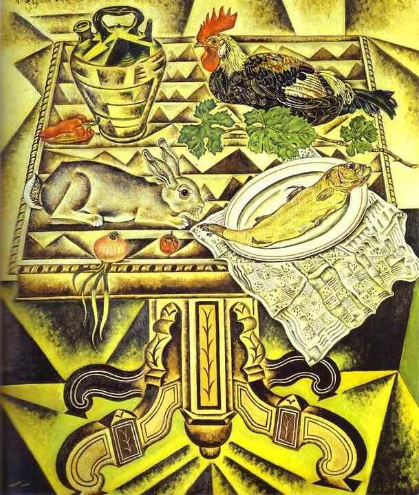 Joan Miró. The Table (Still Life with  Rabbit).