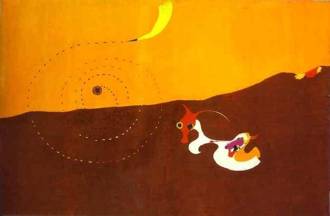 Joan Miró. Landscape (The Hare).