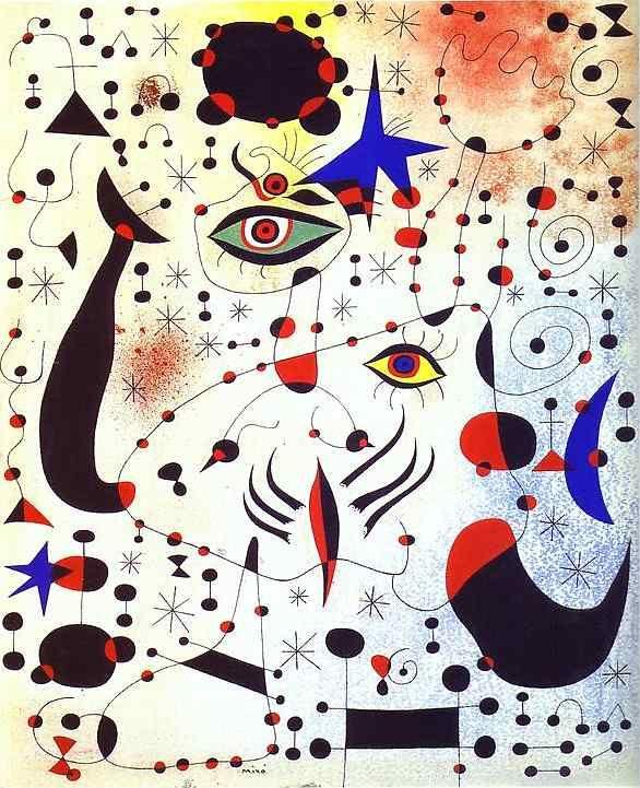 Joan Miró. Ciphers and Constellations,  in Love with a Woman.