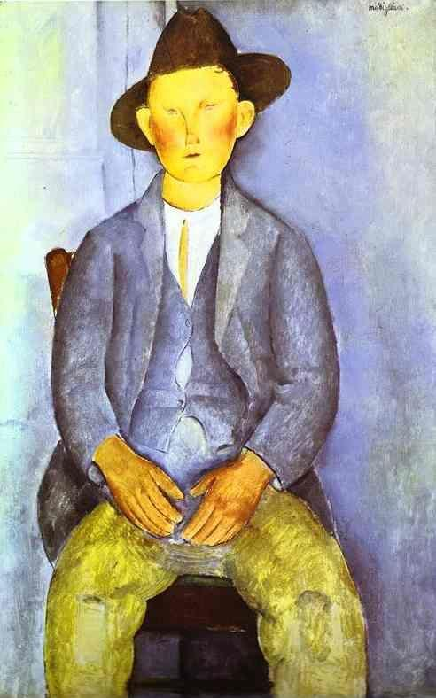 Amedeo Modigliani. The Little Peasant.