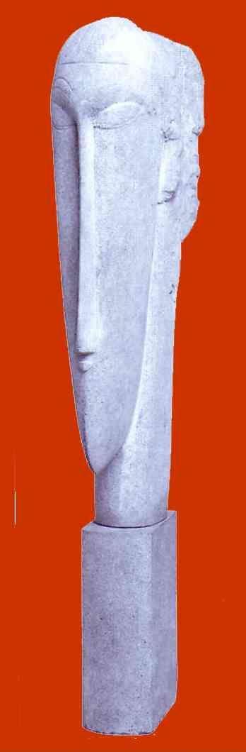 Amedeo Modigliani. Head.