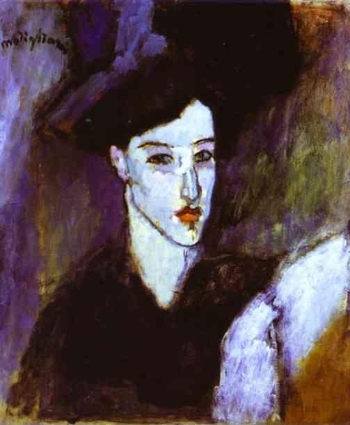 Amedeo Modigliani. The Jewess.