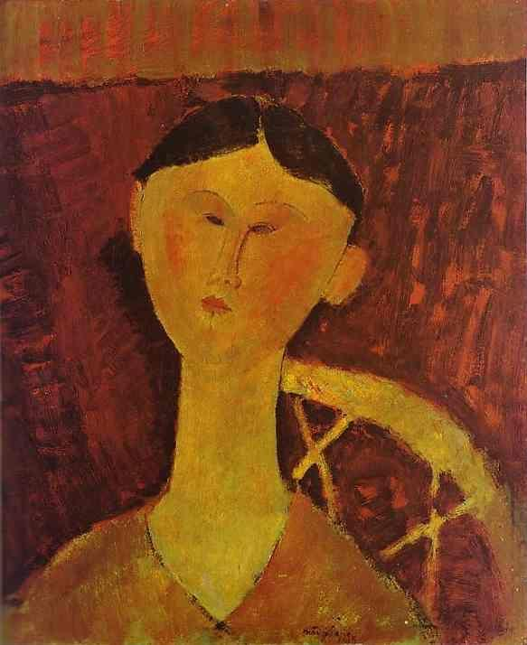 Amedeo Modigliani. Portrait of Beatrice Hastings.